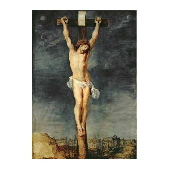 cuadros religiosos - Cuadro -Cristo en la cruz-