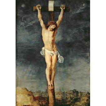 - Cuadro -Cristo en la cruz- - Rubens, Peter Paulus