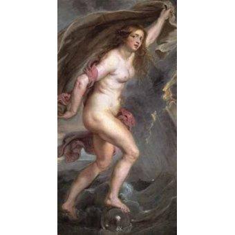 - Cuadro -La Fortuna- - Rubens, Peter Paulus