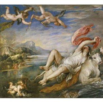 - Cuadro -El rapto de Europa- - Rubens, Peter Paulus
