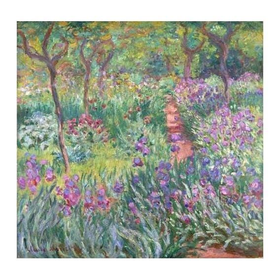 cuadros de paisajes - Cuadro -The Iris Garden at Giverny-