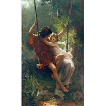 cuadros de retrato - Cuadro -Primavera- - Cot, Pierre-Auguste
