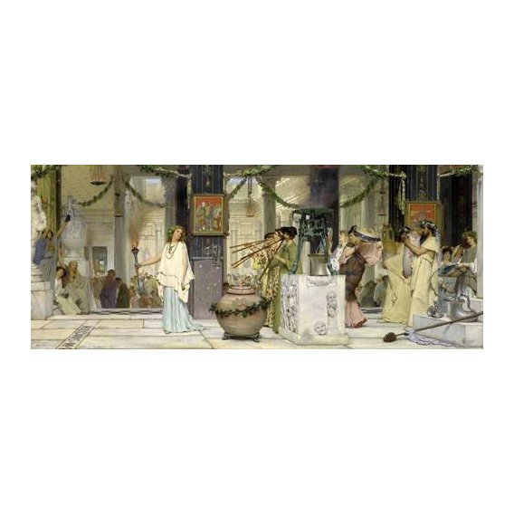 cuadros de retrato - Cuadro -The vintage festival, 1871-