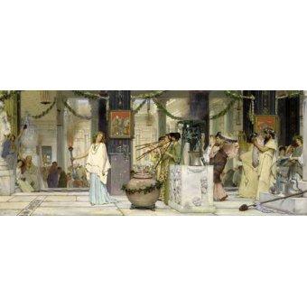 - Cuadro -The vintage festival, 1871- - Alma-Tadema, Lawrence
