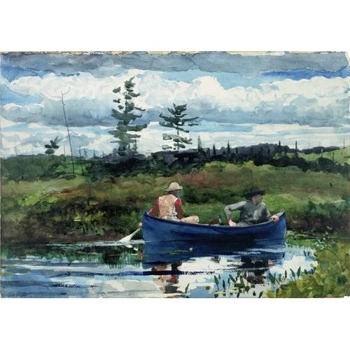 Cuadro -The Blue Boat, 1892-