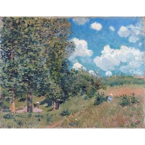 Cuadro -The Road from Versailles to Saint-Germain, 1875-
