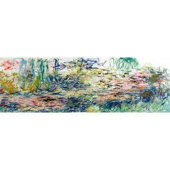 Pasillo - Cuadro -Nenúfares, 1917- - Monet, Claude