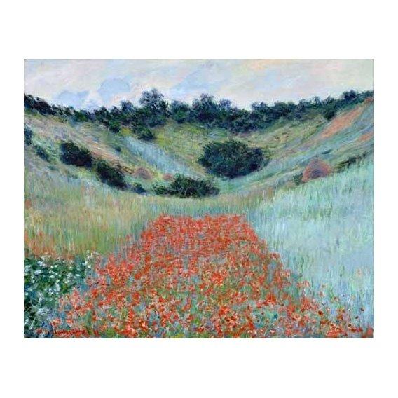 cuadros de paisajes - Cuadro -Poppy Field in a Hollow near Giverny, 1885-