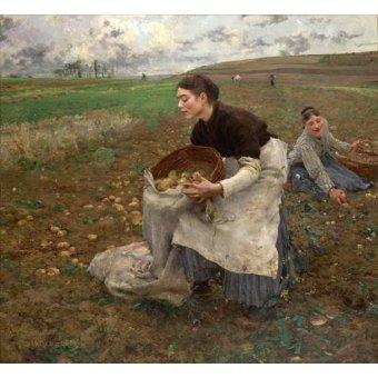 - Cuadro -October, 1878- - Bastien Lepage, Jules
