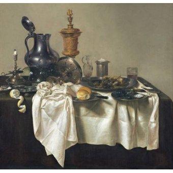 - Cuadro -Banquet Piece with Mince Pie, 1635- - Heda, Willem Claesz