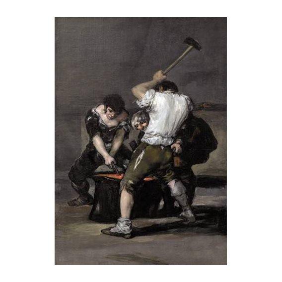 cuadros de retrato - Cuadro -La_fragua, 1815-1820-