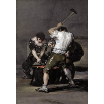 cuadros de retrato - Cuadro -La_fragua, 1815-1820- - Goya y Lucientes, Francisco de