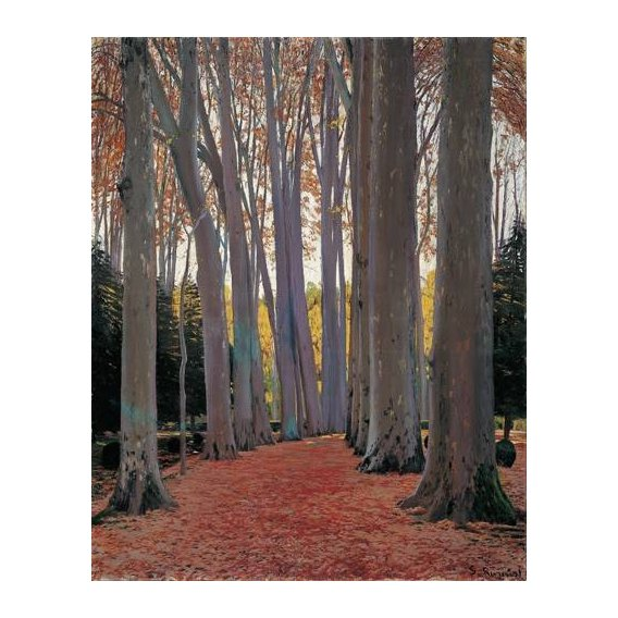 cuadros de paisajes - Cuadro -Avenue of Plane Trees, 1916-