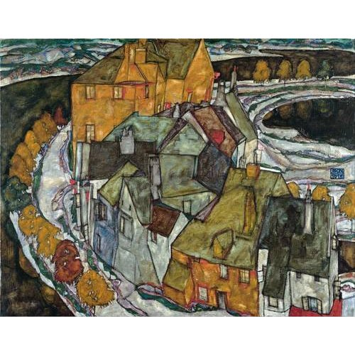 Cuadro -Crescent of Houses II (Island Town), 1915-