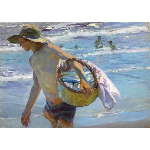 cuadros de retrato - Cuadro -El pescador-