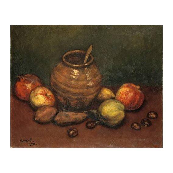 cuadros de bodegones - Cuadro -Still Life, 1910-