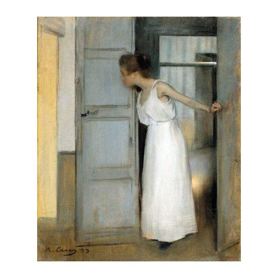 cuadros de retrato - Cuadro -Over My Dead Body, 1893-