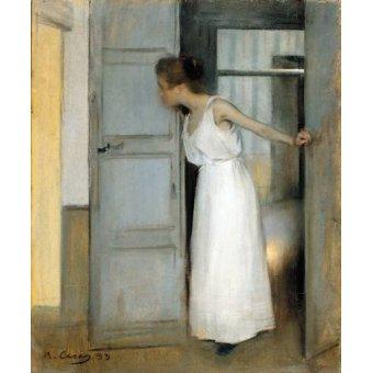 - Cuadro -Over My Dead Body, 1893- - Casas i Carbó, Ramón