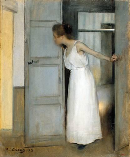 cuadros-de-retrato - Cuadro -Over My Dead Body, 1893- - Casas i Carbó, Ramón
