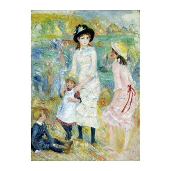 cuadros de retrato - Cuadro -Children on the Seashore, Guernsey, 1883-