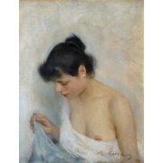 Cuadro -Study, 1893-