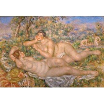 - Cuadro -Bathing Women- - Renoir, Pierre Auguste