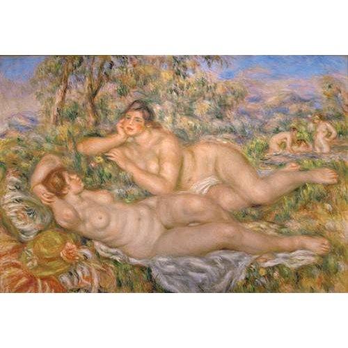 cuadros de desnudos - Cuadro -Bathing Women-