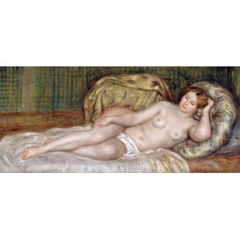 - Cuadro -Large Nude, 1907- - Renoir, Pierre Auguste
