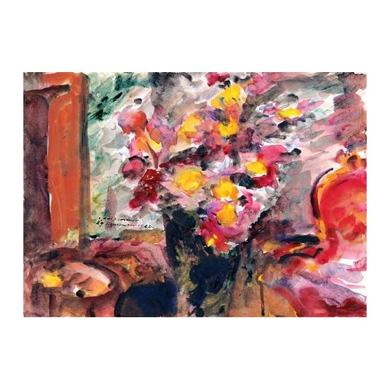 cuadros decorativos - Cuadro -Flower Vase on a Table-