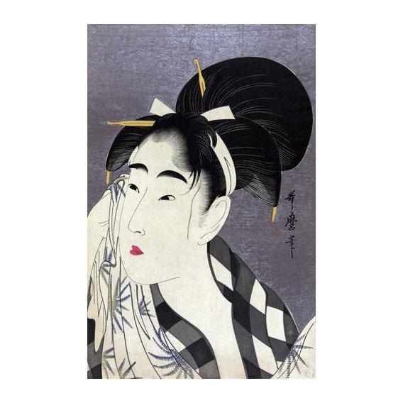 cuadros etnicos y oriente - Cuadro -Ase o fuku onna-
