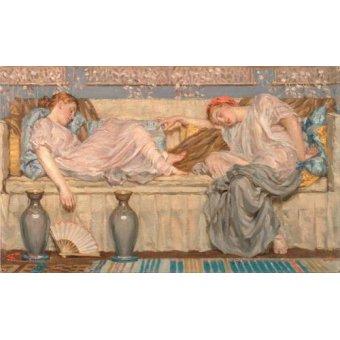 - Cuadro -Beads_(study), 1875- - Moore, Albert Joseph