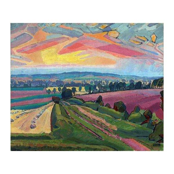 cuadros de paisajes - Cuadro -The Icknield Way-