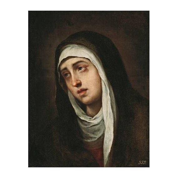 cuadros religiosos - Cuadro -La Dolorosa, 1660-70-
