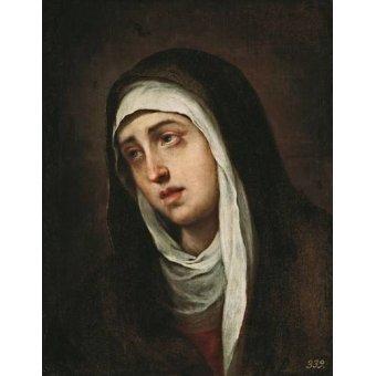 - Cuadro -La Dolorosa, 1660-70- - Murillo, Bartolome Esteban