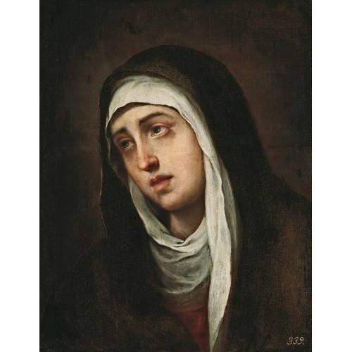 Cuadro -La Dolorosa, 1660-70-