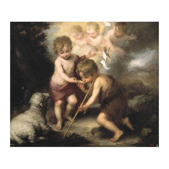 cuadros religiosos - Cuadro -Los niños de la concha-