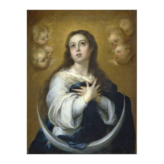 cuadros religiosos - Cuadro -La Inmaculada Concepcion, 1662-