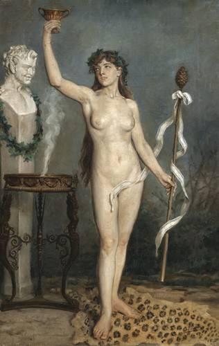 cuadros-de-desnudos - Cuadro -Modelo desnudo femenino- - Sorolla, Joaquin