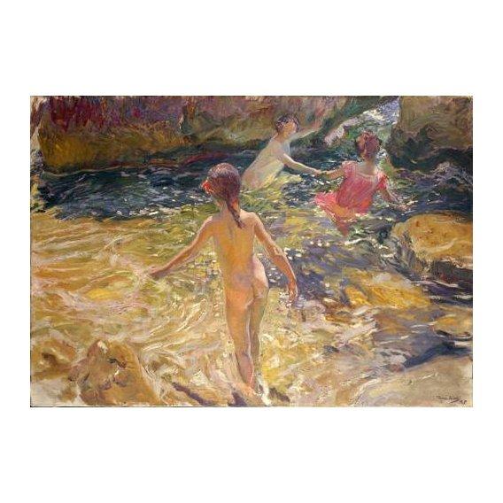 cuadros de marinas - Cuadro -El baño, Jávea-