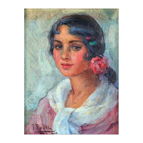 cuadros de retrato - Cuadro -Retrato de una mujer-