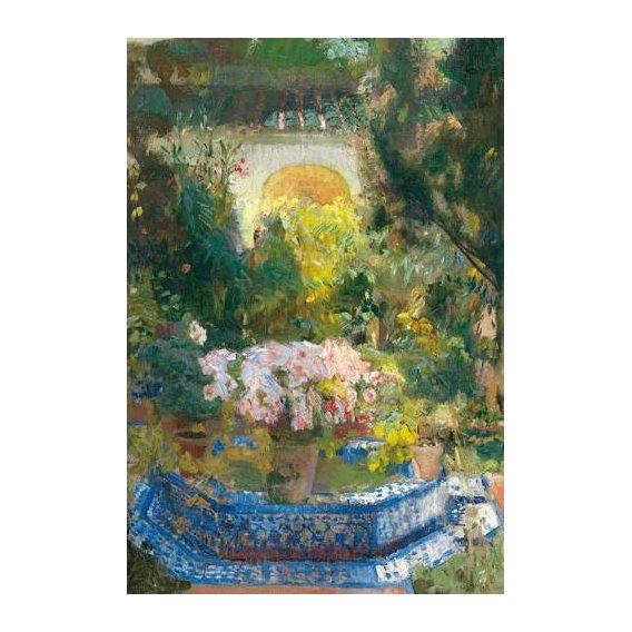 cuadros de paisajes - Cuadro -Patio de la casa Sorolla, 1917-