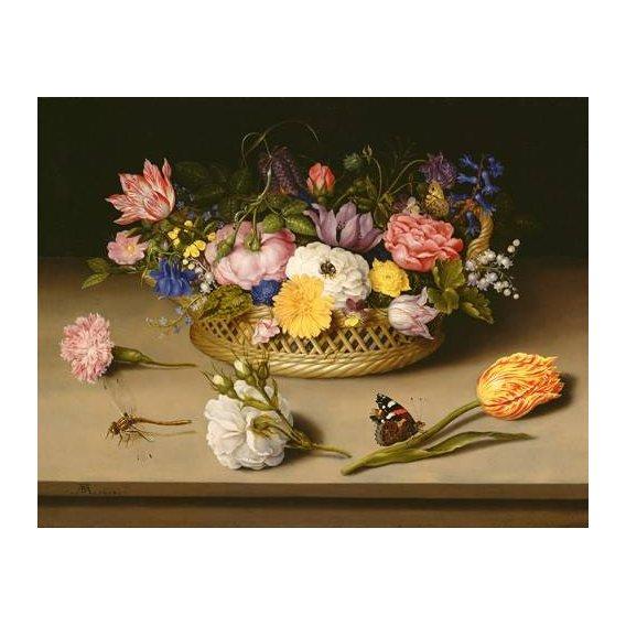 cuadros de flores - Cuadro -Flower Still Life-