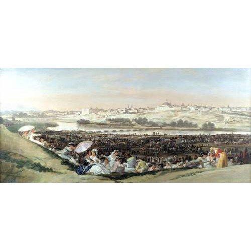 Cuadro -La Pradera de San Isidro, 1814-