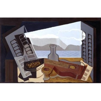 cuadros abstractos - Cuadro -The Open Window, 1921- - Gris, Juan