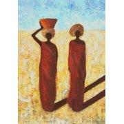 Cuadro -African Girls, 2001-