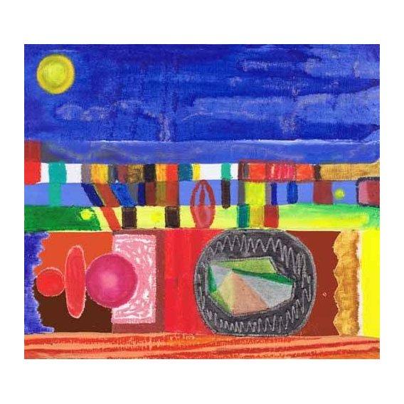 cuadros etnicos y oriente - Cuadro -Nocturnal, 2002-