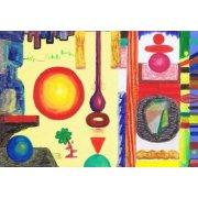 Cuadro -Abstracto _ Diurnal, 2002-