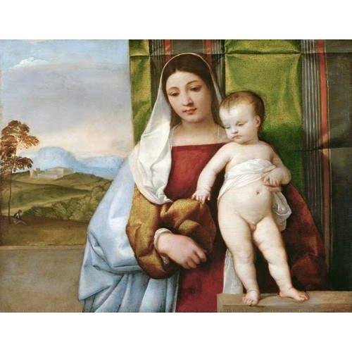 Cuadro -Virgen Gitana-