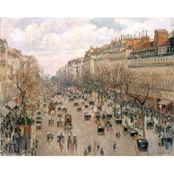 Cuadro -Boulevard_Montmartre, 1897-