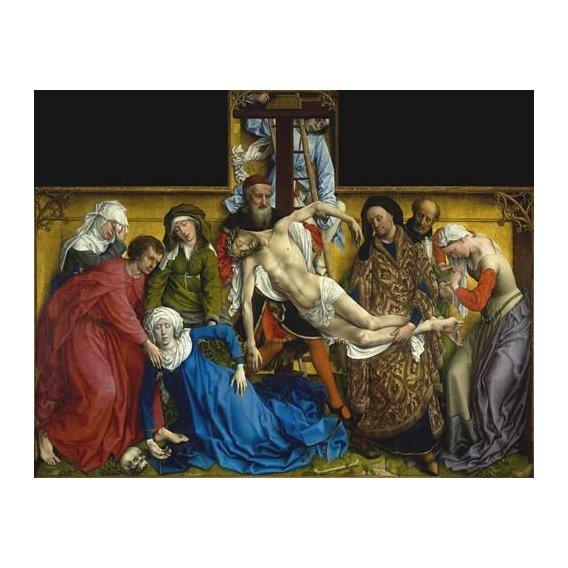 cuadros religiosos - Cuadro -El Descendimiento-